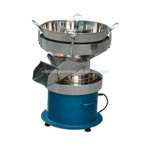 450mm diameter vibration sieve filter milk cream separator
