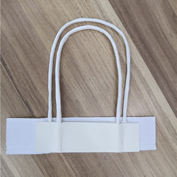 45mm thickness Product specification and Eco-friendly  twisted shape Feature paper bag handle