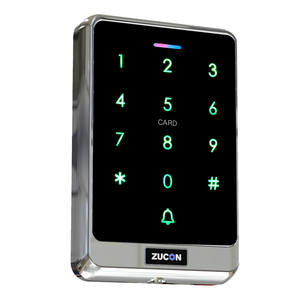 Digital Door Code Lock Swipe and Password Access Control Machine Hot Sale Waterproof Touch Screen with 1 Years Warranty
