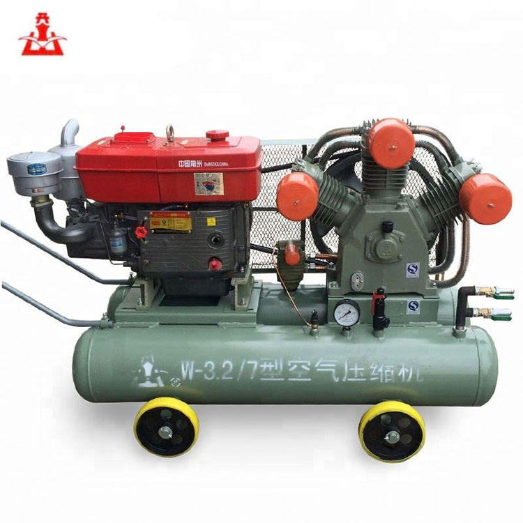 kaishan brand 2V 4/5 25hp 5 bar air compressor mining for rock drill