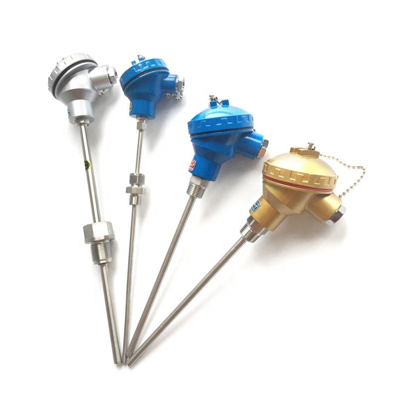1200c High temperture temperature sensor E N J T S R B K type thermocouple with M6 Screw