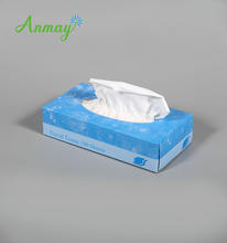 Factory cheap price 18*14cm Box Facial Tissue 160counts Flat 100 sheets