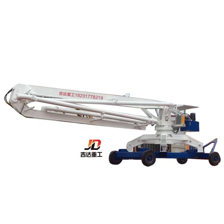 Factory supply High-Efficiency 15M Mobile Hydraulic spider Concrete placing boom for construction Concrete spreader