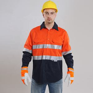 OEM Work Workwear Flame Resistant Clothes Fire Proof Clothing