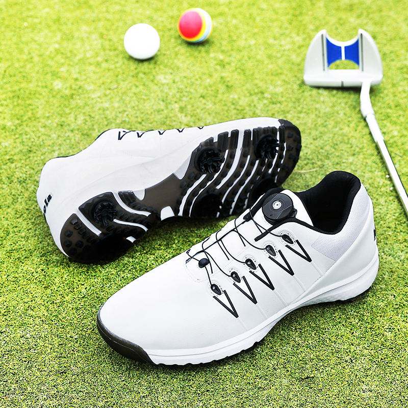 New Training Golf Shoes Men White Black Anti Slip Quality Golfing Shoes Big Size 36-48 fashion Breathable Jogging Golf Sneakers