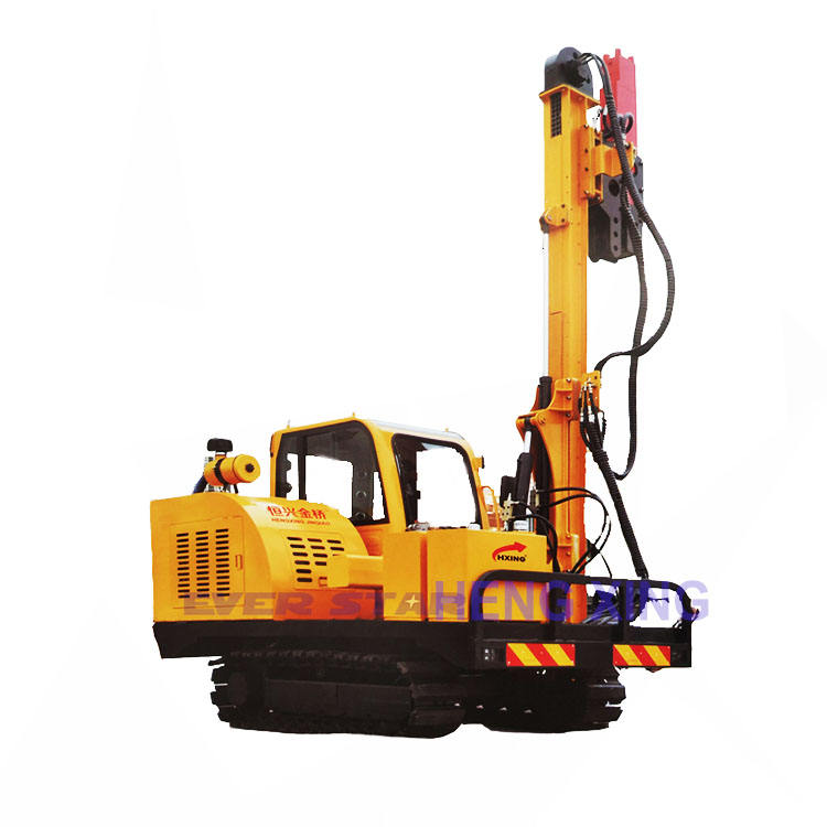 machine engineering construction machinery for and PV power station Fast Speed Fluid Drive Pile Machine With High Q