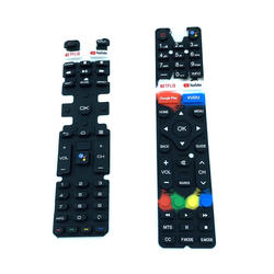Customized Rubber Products Rubber Silicone Push Button for Remote Control