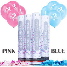 Nicro Tissue Paper Birthday Gender Reveal Party Supplies Push Pop Confetti Cannon
