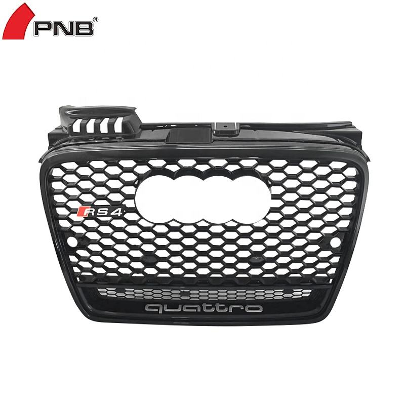 Honeycomb Front Grill Voor Audi A4 B7 Rs Grill 2005-2007