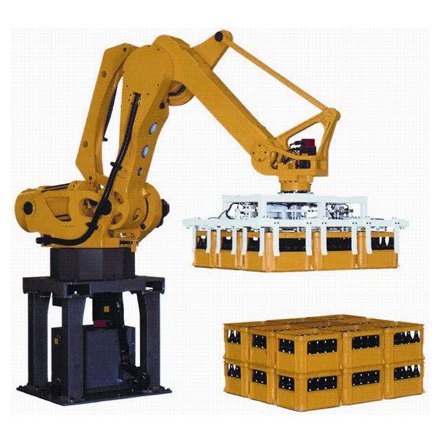 Промышленная система управления Автоматическая <span class=keywords><strong>паллетизатор</strong></span> захват робот рука для <span class=keywords><strong>упаковки</strong></span>