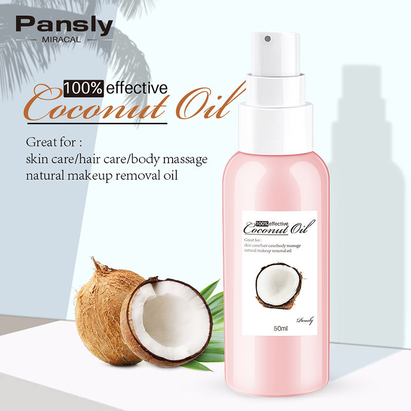 PANSLY Coconut Hair Scalp Treatments Natural Hair Relaxer Oil Repair Dry Damage Coconut Oil Hair Care