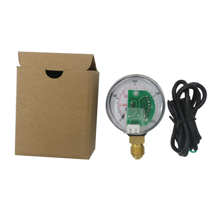 Directly reading 5-0V cng lpg gas pressure gauge manometer