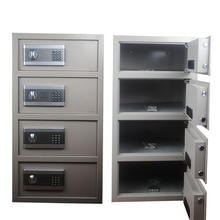 Digital electronic combined 4 door bank safety deposit box, bank safe