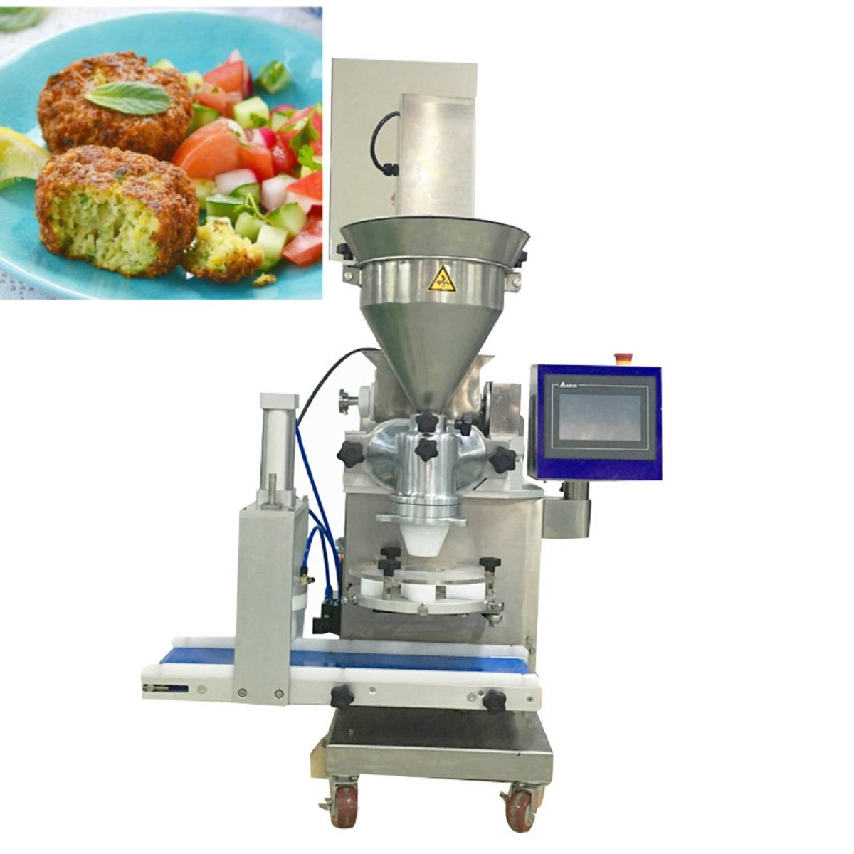 Encrusting En Vormmachine Falafel/ Kibbe/ Kebbe Making Machine