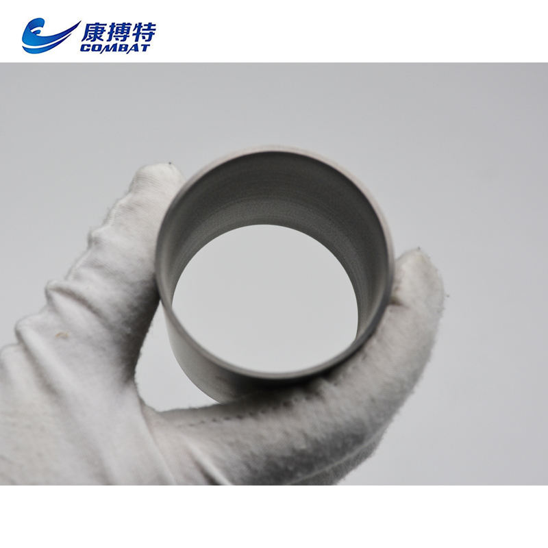 Customized High Purity 99.95% Min Tungsten Pipe/tube