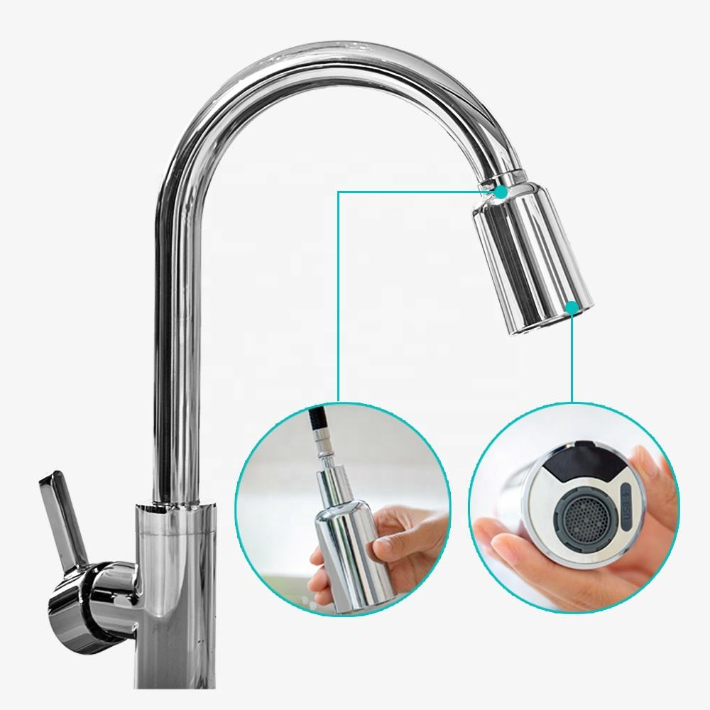 Smart Automatic touch Two Sensor water tap Touchless Flexible Pull Out Kitchen Sink Faucet Water Saving Kitchen Taps
