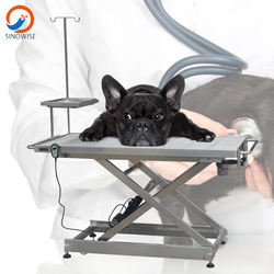 Vet electric surgery table operation veterinary operating table pet surgical groom table examination medical equipment