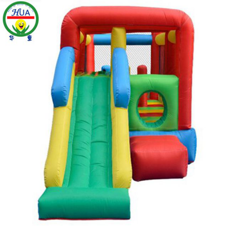 Inflatable Bouncer Slide Inflatable Bouncer Long Slide Oxford Cloth Material