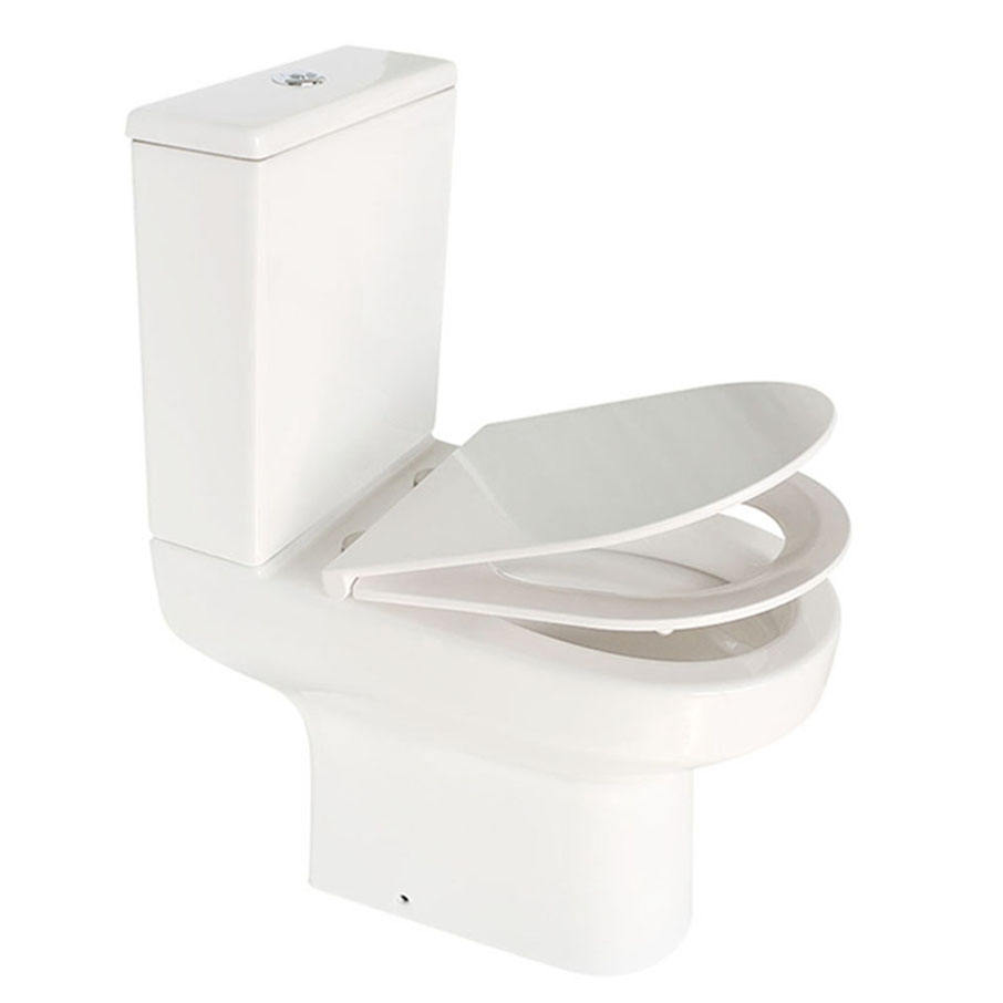 Seat One Piece Washdown Two Bathroom Brush Holder Sanitary Wares Made China Ceramic Wc Sizes Closestool Toilet