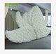 LDJ708 ivory large aritificial flower archs background floral design for wedding outdoor wedding