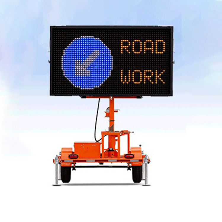 One-Stop Service [ Signs Led Sign Board ] Amber Trailer Signs Led Messaging Color Variable Message 5 Colour Sign Traffic Display 5 Colour Vms Board