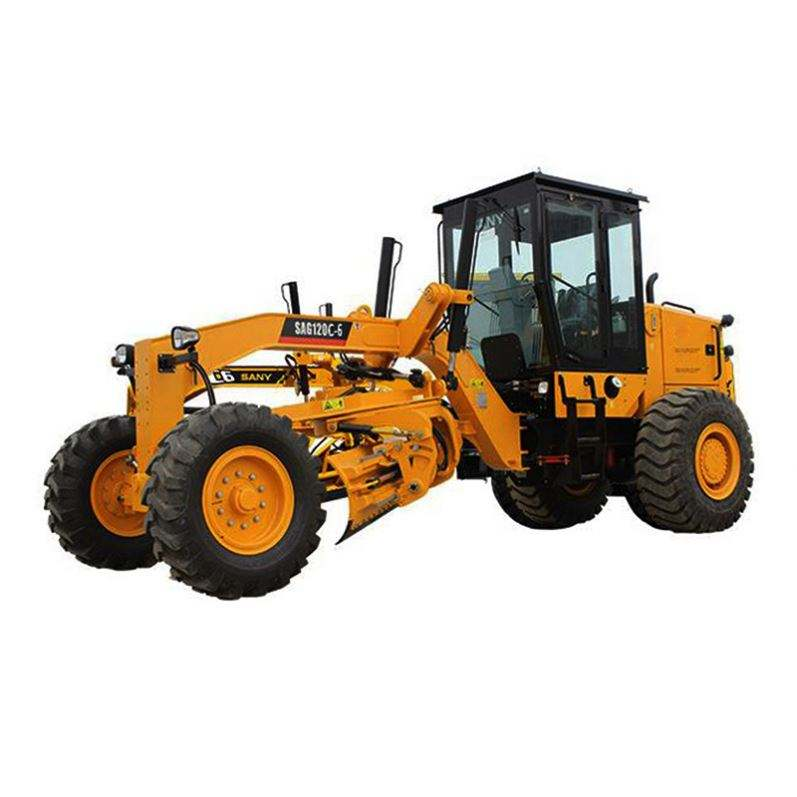 High Quality Gr135 Used Small Motor Grader 135 Power Hot Sale