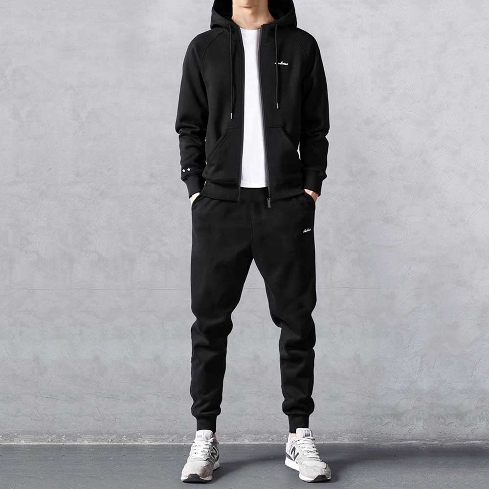 The New 2020 Custom Mens Sport Fitted Tracksuit Plain Tracksuit