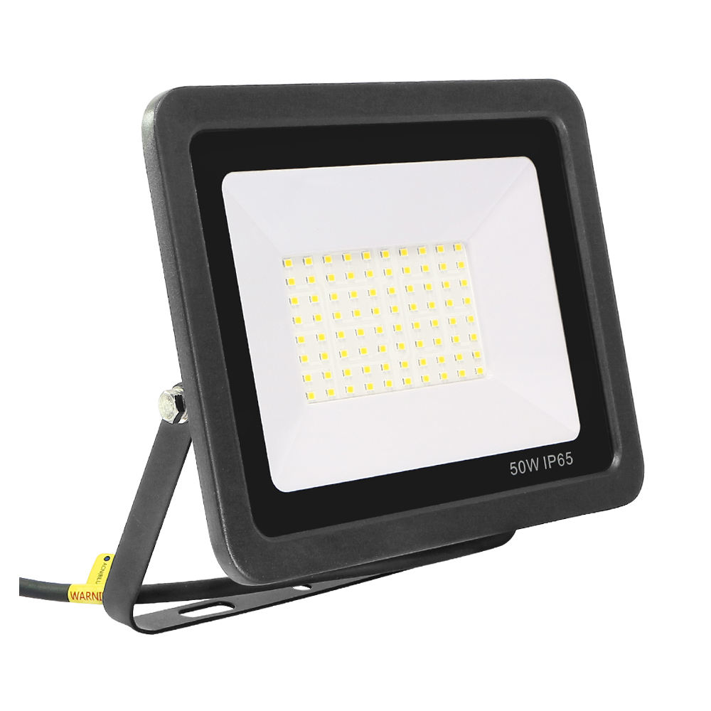 KCD Most powerful cob frosted glass led landscape flood light rgb 50 watt