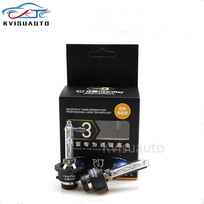 Factory Directly Selling Heartray D2S Car Xenon HID Bulbs 1 pair 35W/50W 12V/24V with E-mark DOT Certificate