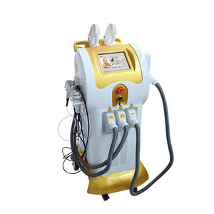 8 in 1 Hot Sales Elight SHR / IPL /ND YAG Laser / Cavitation /Vacuum/RF /China Beauty Salon Equipment for Tattoo Hair Removal