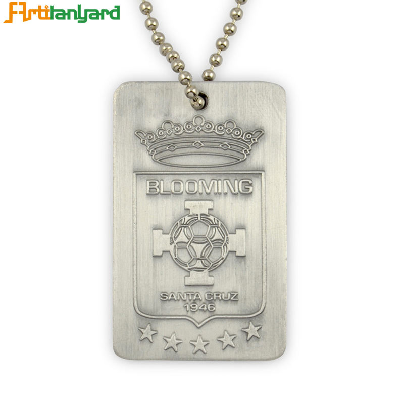 Promotion Dog Tags Sublimation Customized Engraved Stainless Steel Dog Tag