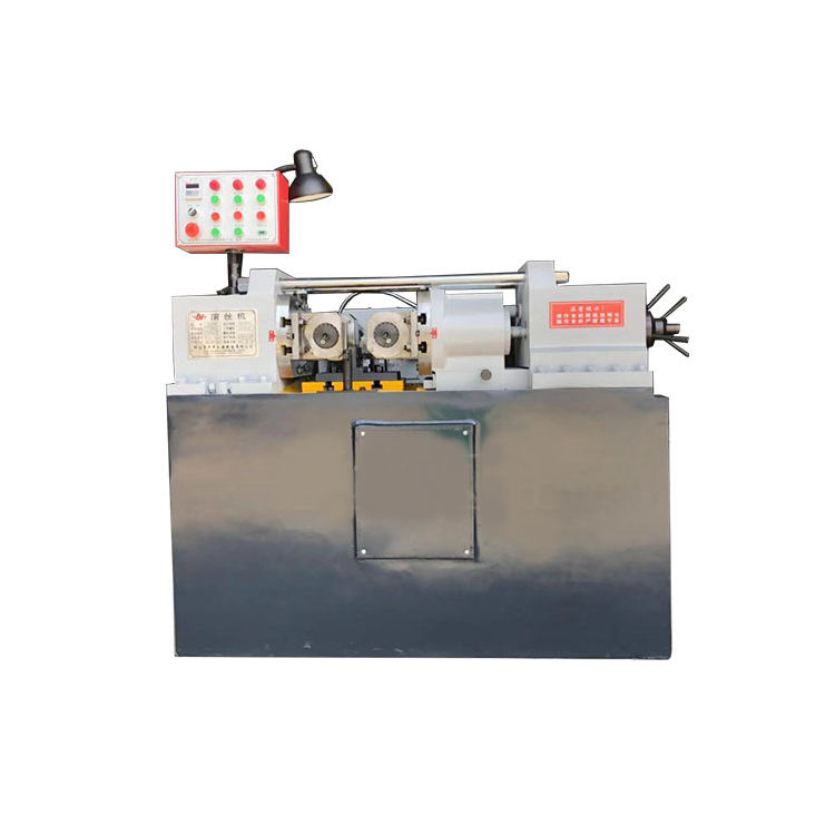 Two sets of knurling machine screw rod rubbing machine hydraulic screw machine manufacturers