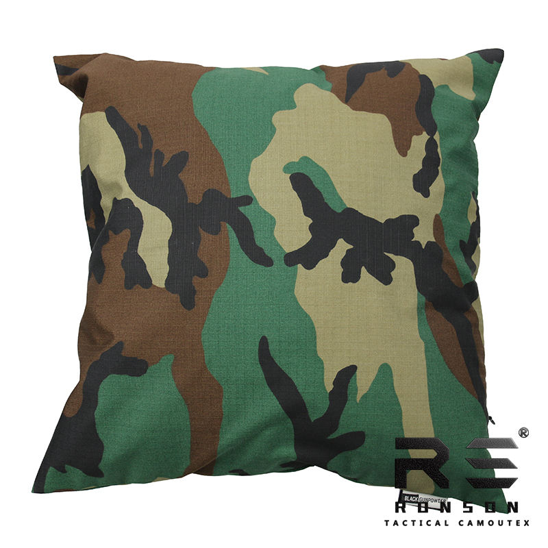 Soft touch 65/35 TC polyester cotton ripstop/twill cushion/throw pillow