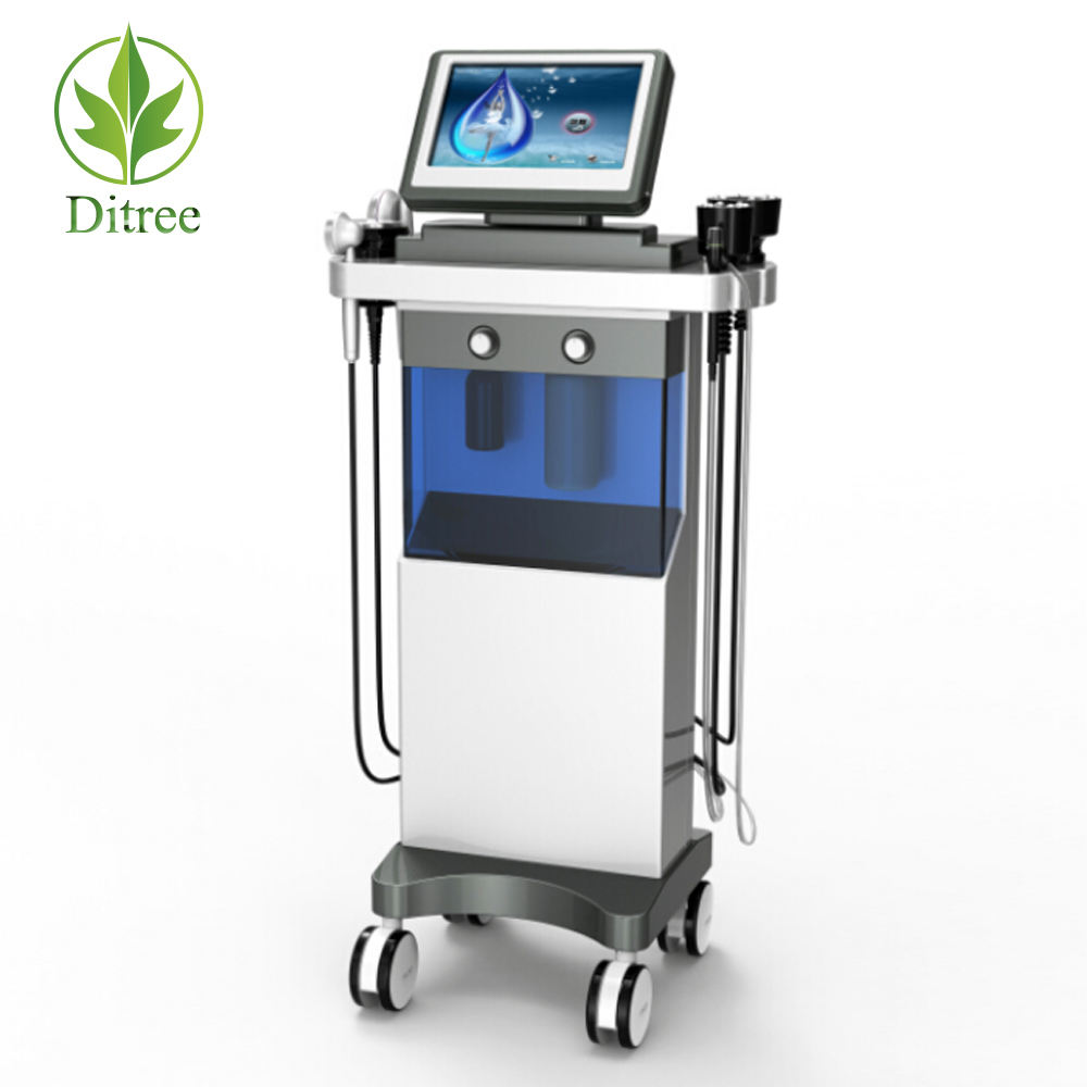 2020 Ditree Newest Multifunction Skin SPA and Body Cavitation Radio Frequency Slimming Beauty Machine SPA10E
