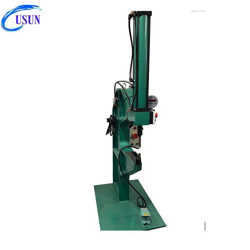Usun Model : ULYP 4-8 Tons C frame bench type pneumatic hydraulic self clinching machine with M4,M6 nuts