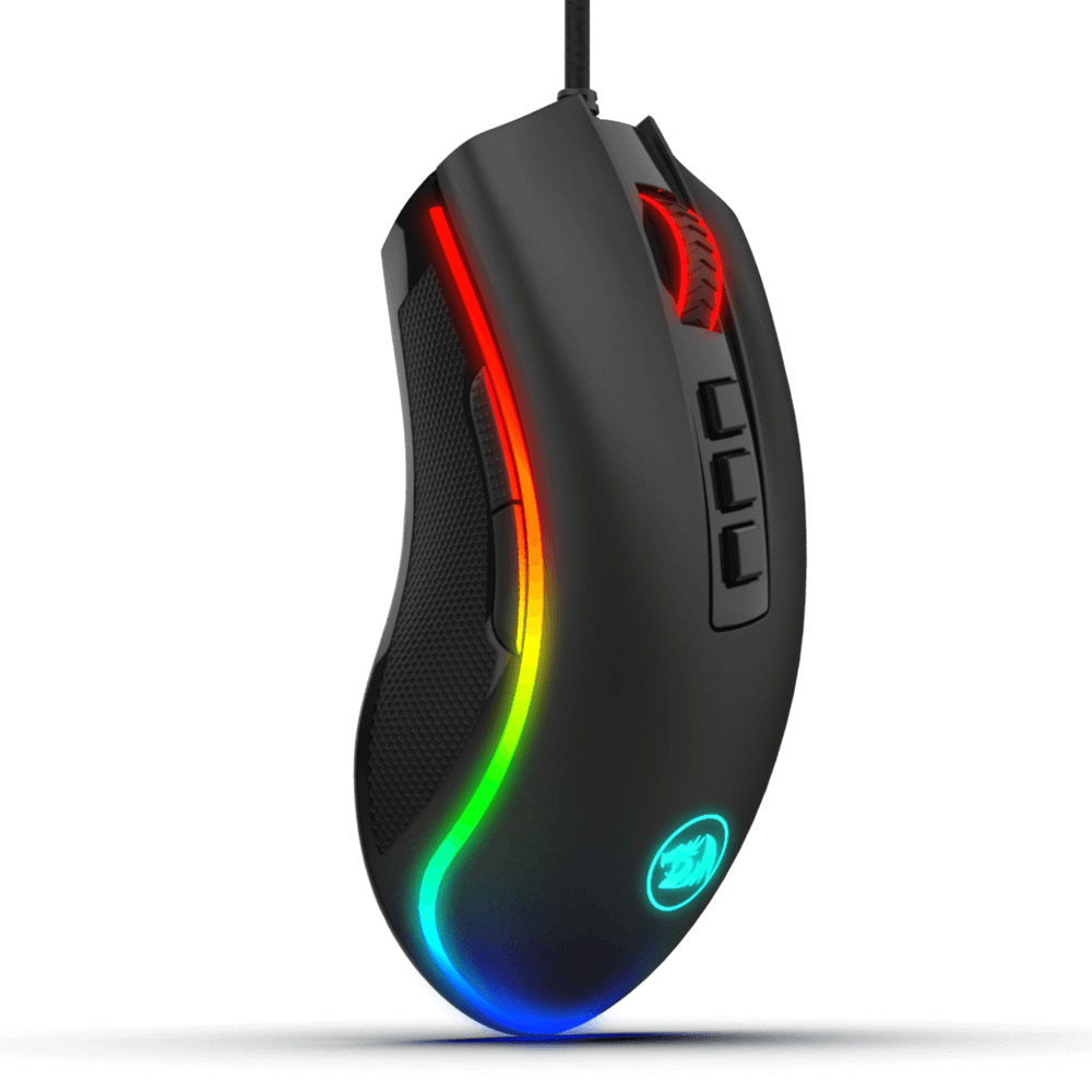 New arrival Redragon M711 USB 10,000 DPI Adjustable RGB Programmable Computer Mouse