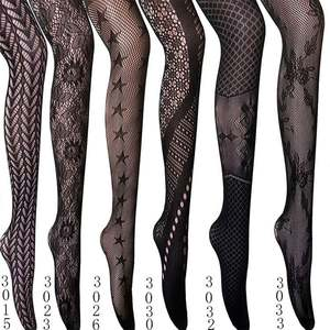 Fishnet Tights Thigh High Stockings Pantyhose for Women Fullsexy Plus Size Fishnet Stockings