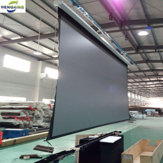 extra Large 400 inch electric projection screen