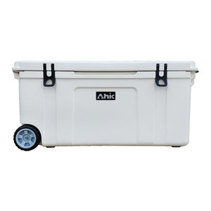 Commercial Fishing Ice Chest cooler,120L Ice Box For Live Fish Transport