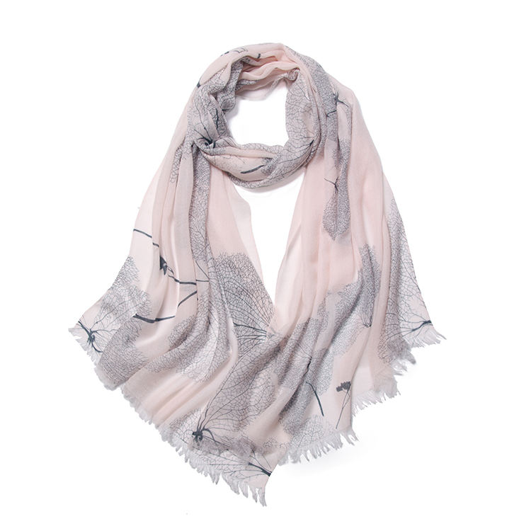 Top New Popular double sided lightweight scarf cashmere silk scarf