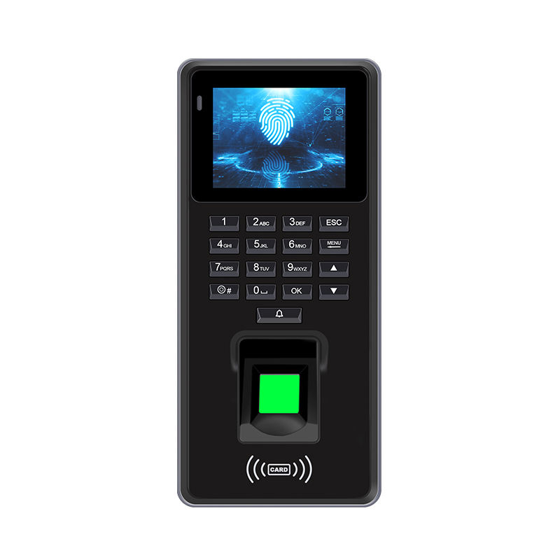 Xy199 Top Selling 2.4Inch Office Security Smart Rfid Card Biometric Finger Print Door Lock Access Control Systems With Doorbell