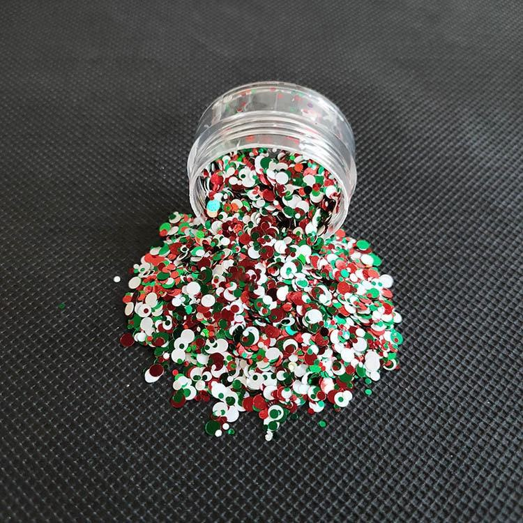 Exclusive Design Bulk Wholesale christmas glitter for nail and art