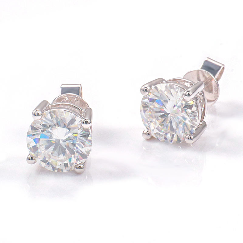 Provence Gem Diamond Earring F VS 2.0CT HPHT Lab Grown Diamond Earring