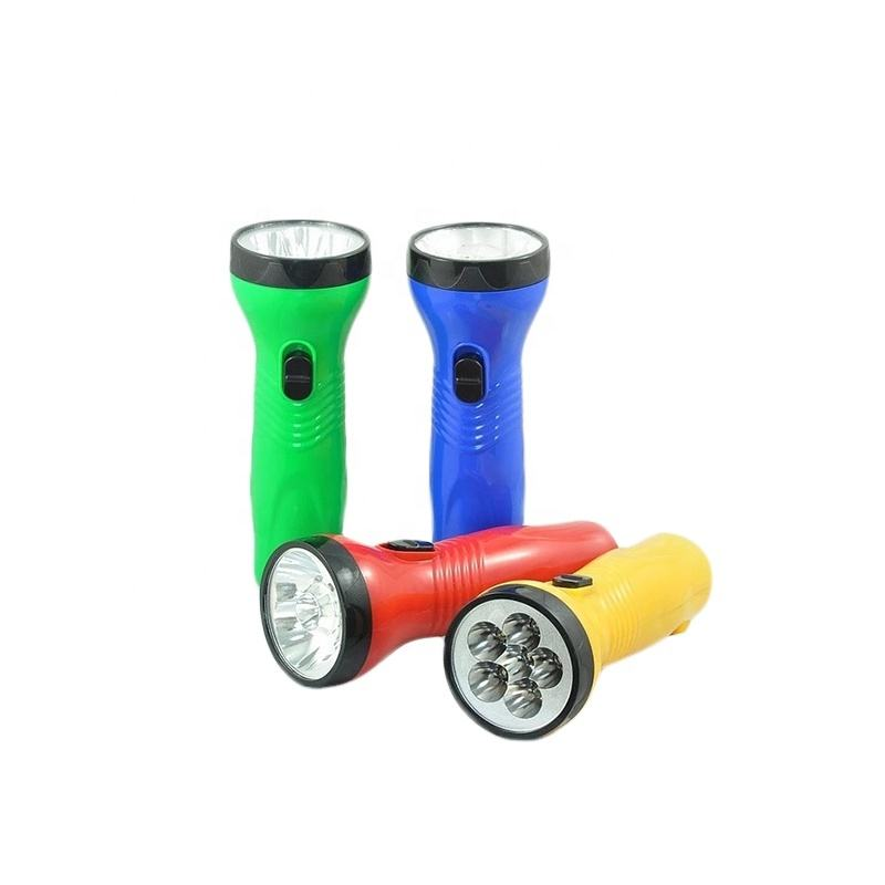 China supplier portable rechargeable hand held light led torch flashlight for emergency lighting