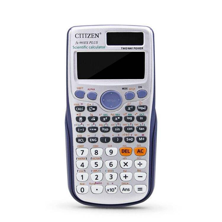 Dual Power Supply School Scientific 12 Digits Promotional Custom Calculator