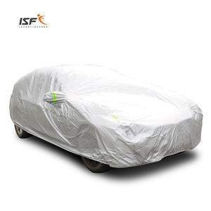 logo custom silver pvc car cover sunshade protection car cover