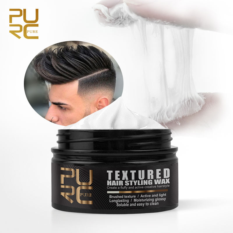 Dasar Air Rambut Edge Control Perusahaan Hold Hair Wax Matte Shine Pomade Private Label