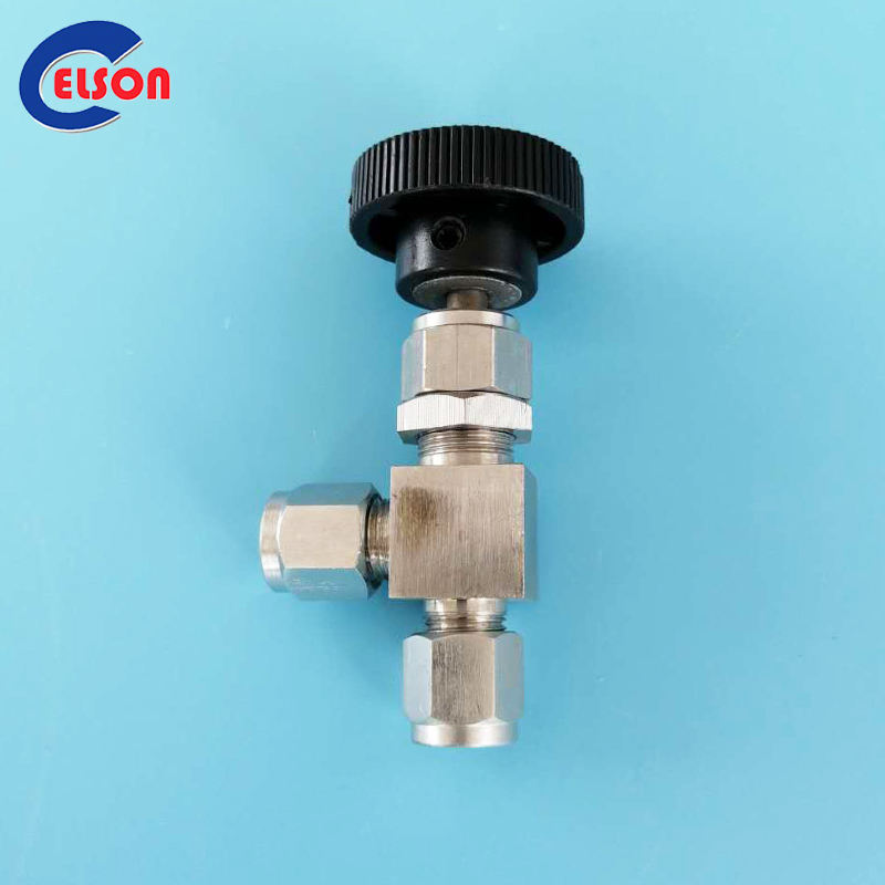 """Precision Needle Valve with 3//8/""""John Guest Style Fittings"""