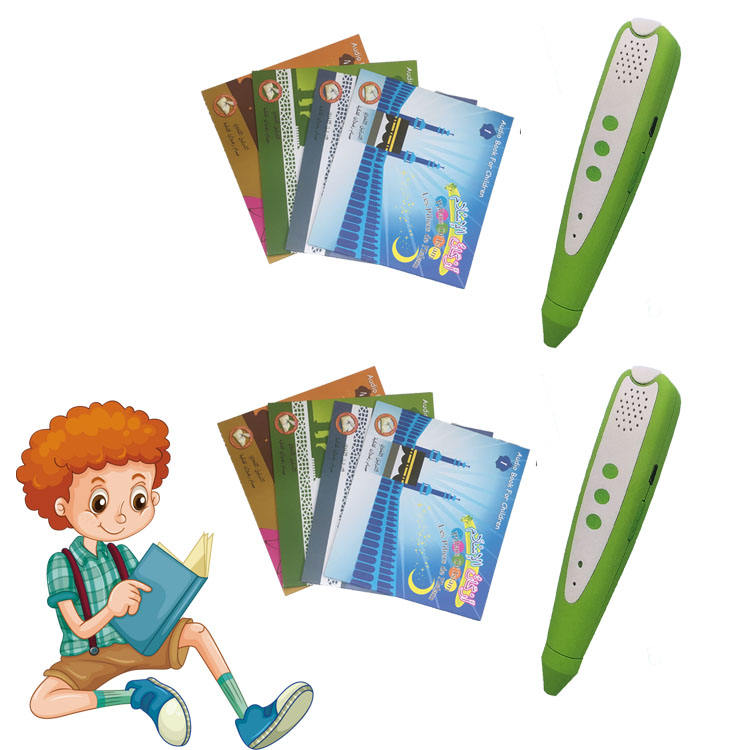 Intelligent point reading pen early childhood learning English Arabic point reading pen m-8s