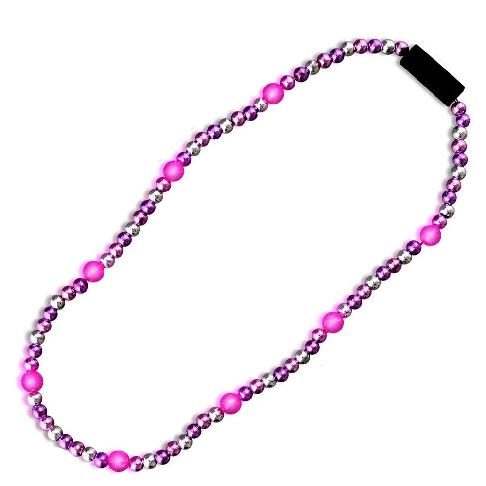 Party Supplier Flashing Beads LED Light Necklace